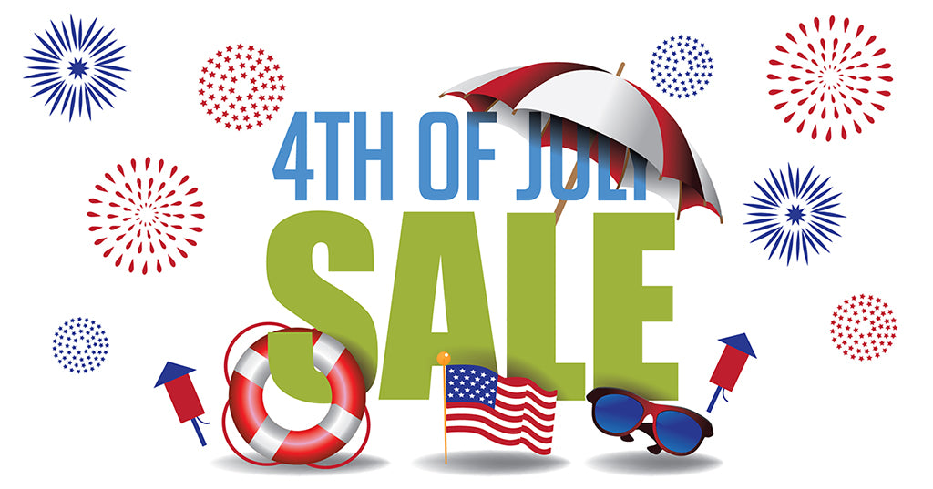 Earth Friendly Straws - 4th of July Independence Day Sale - Large