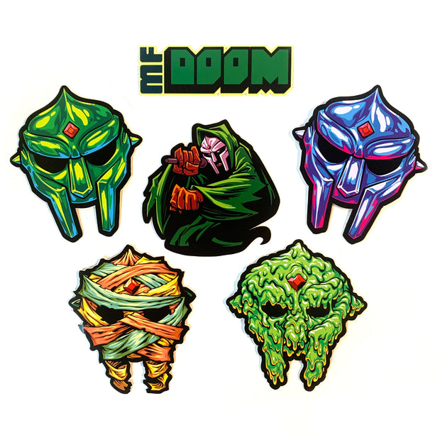 MF DOOM Sticker Pack [Pre-order]