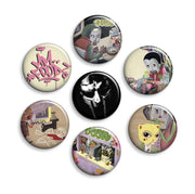 MF DOOM Button Pack