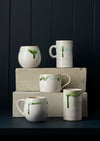 Australian Made Green Melt Mugs