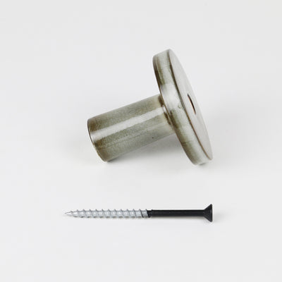 WALL HOOK-SALTBUSH INC BLK SCREW