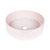CLAY 350-ROUND HAND BASIN/ROSE QUARTZ