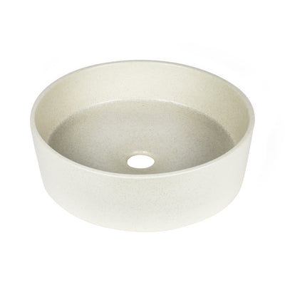 CLAY 350-ROUND HAND BASIN/POPPYSEED