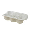 EGG CRATE-6 CUP WHITE GARDEN TO TABLE