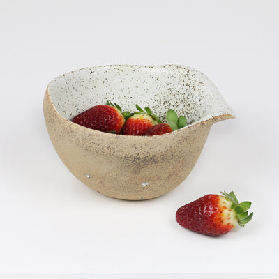 COLANDER-BERRY WHITE GARDEN TO TABLE