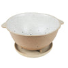 COLANDER & PLATE - WHITE GARDEN TO TABLE