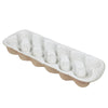 EGG CRATE-12 CUP WHITE GARDEN TO TABLE