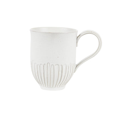 MUG 2PK-WHITE CRAFTED MUG
