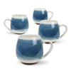 HUG ME MUG 4PK/LIGHT BLUE MEDITERRANEAN