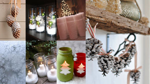 Christmas Decorations with Epsom Salt