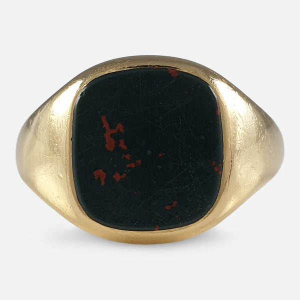 a view of the bloodstone ring
