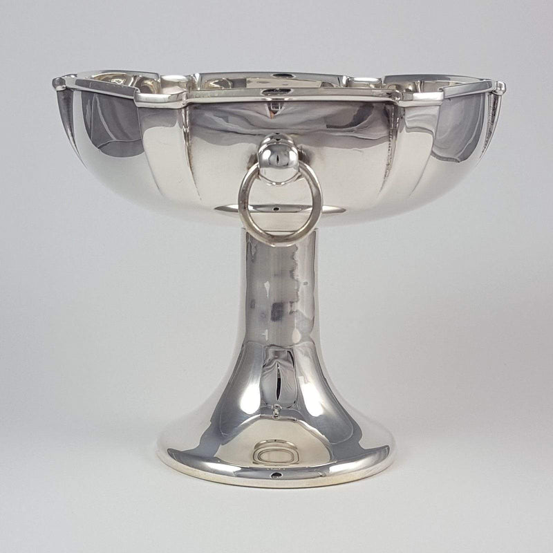 Silver Arts and Crafts Pedestal Bowl William Hutton & Sons - Argentum Antiques & Collectables