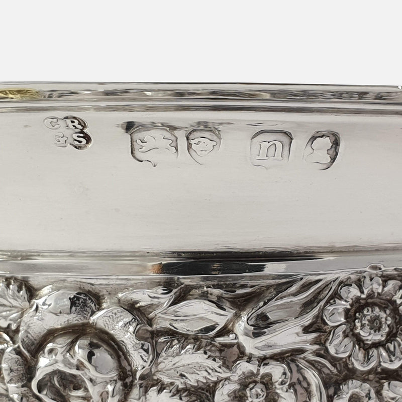 George IV Sterling Silver Gilt Christening Cup, London, 1828 hallmarks and makers marks