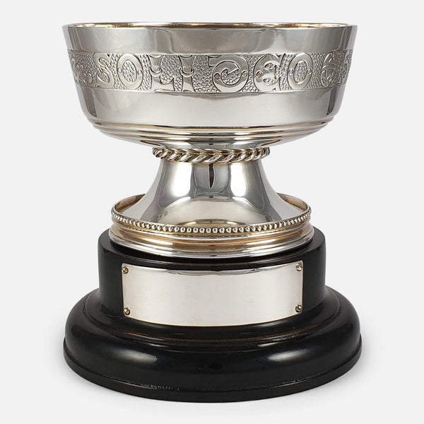 George V Sterling Silver Gilt Cup, S.Blanckensee & Sons Ltd 1922