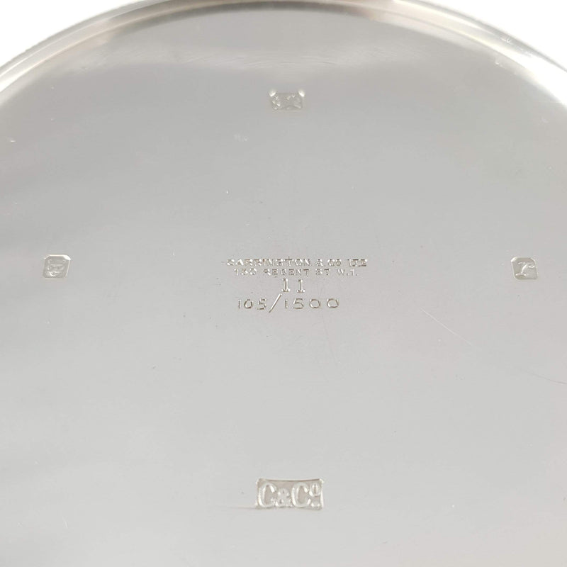 limited Edition Silver Gilt Cylindrical Box Carrington & Co - Argentum Antiques & Collectables