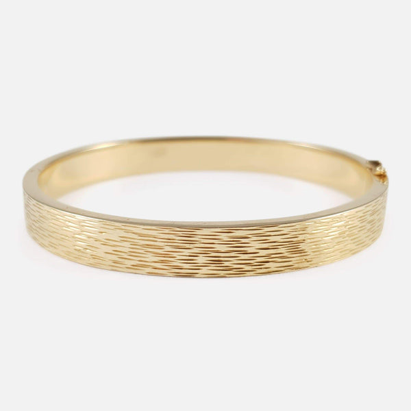 Danish 14ct Yellow Gold Bangle Ove Fogh Pedersen - Argentum Antiques & Collectables