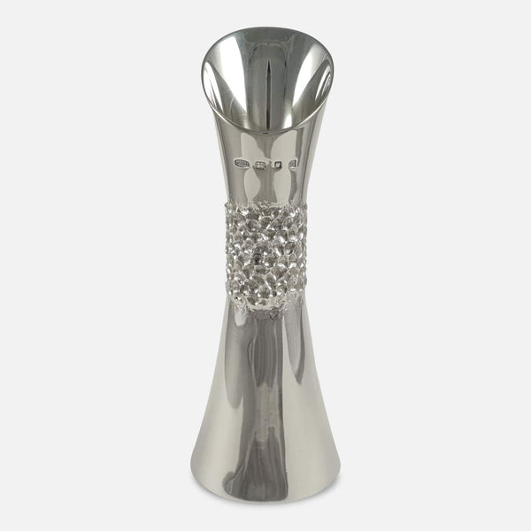 Sterling Silver Vase Christopher Nigel Lawrence - Argentum Antiques & Collectables