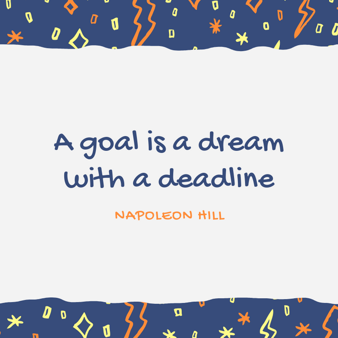 Motivation Monday: Do you have goals or dreams?