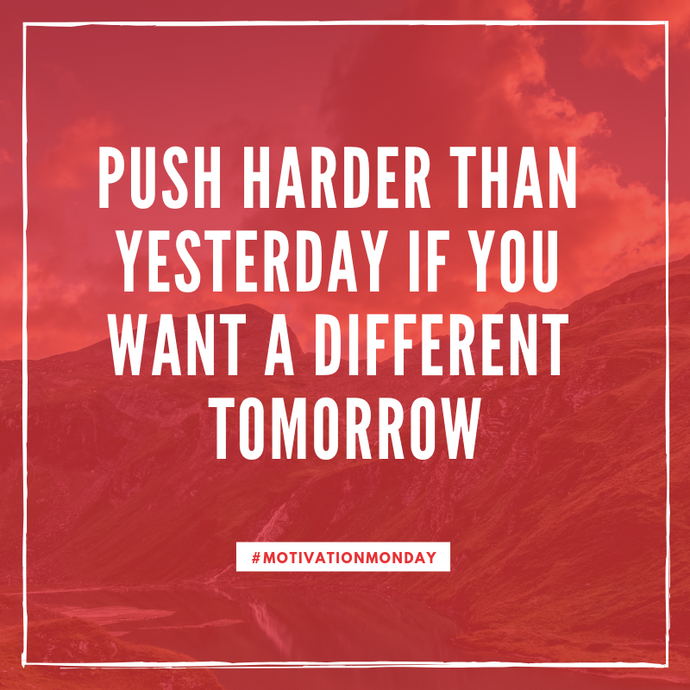 Motivation Monday: See a different tomorrow