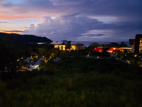 Costa Rica Room View at Night