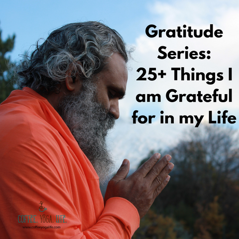 Gratitude: 25+ things I am grateful for in my life