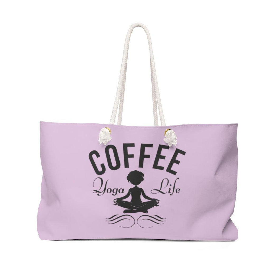Weekender Bag- Lavendar - Coffee.Yoga.Life.