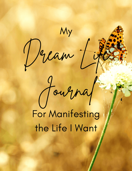 My Dream Life Journal Cover