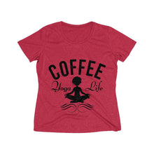 Load image into Gallery viewer, Coffee Meditation Tee - Coffee.Yoga.Life.