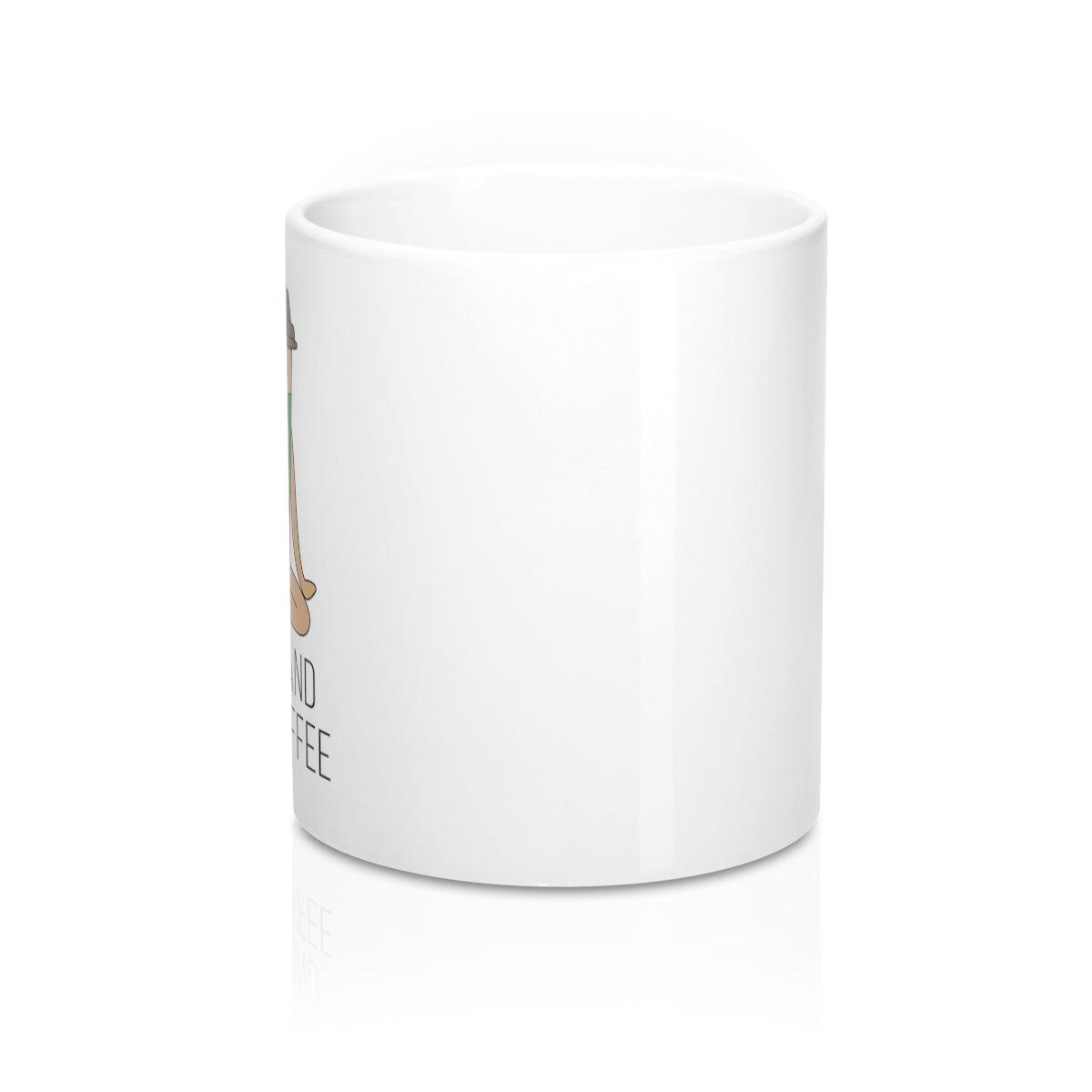 Coffee Yoga Meditation Mug - Coffee.Yoga.Life.