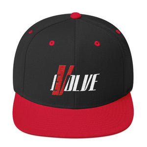 Evolve Snapback Hat - Coffee.Yoga.Life.