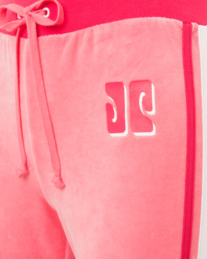 COLORBLOCK LOGO TRK VELOUR PANT
