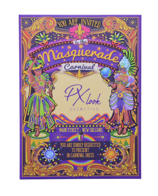 Px Look Masquerade Carnival Eyeshadow Palette