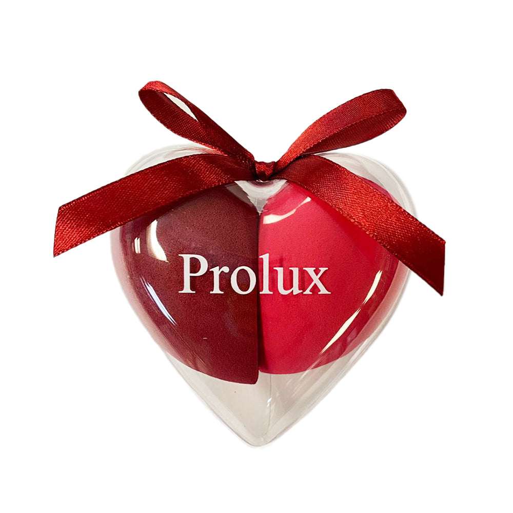 Prolux Heart Shaped Duo Blending Sponge