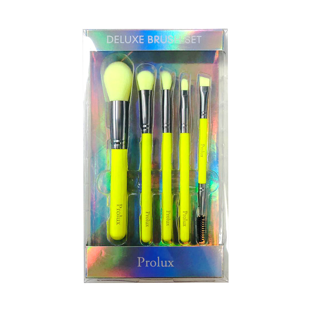Deluxe Neon Brush Set