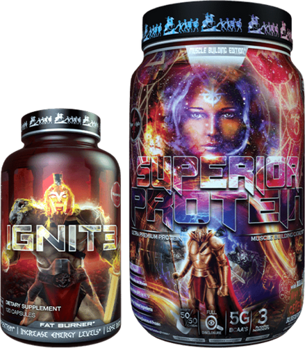 SUPERIOR PROTEIN - MUSLCES BUILDING & IGNIT3