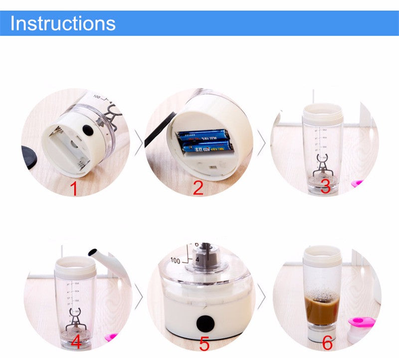 600ml Electric Shaker Blender