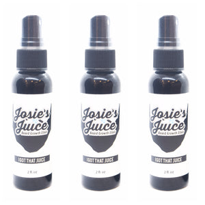 Josie's Juice: Beard Growth Elixir 3 Month Supply