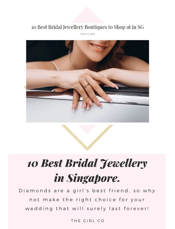 10 Best Bridal Jewellery in Singapore.