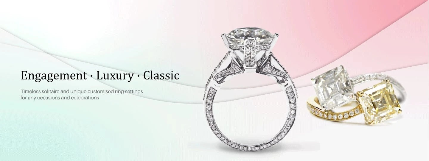 Lecaine Engagement - Luxury -Rings Collection
