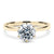 3 Carat Moissanite Solitaire 6 Prong 18K Yellow Gold - LeCaine Gems
