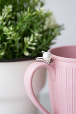 Pearl Hope Rays Ring