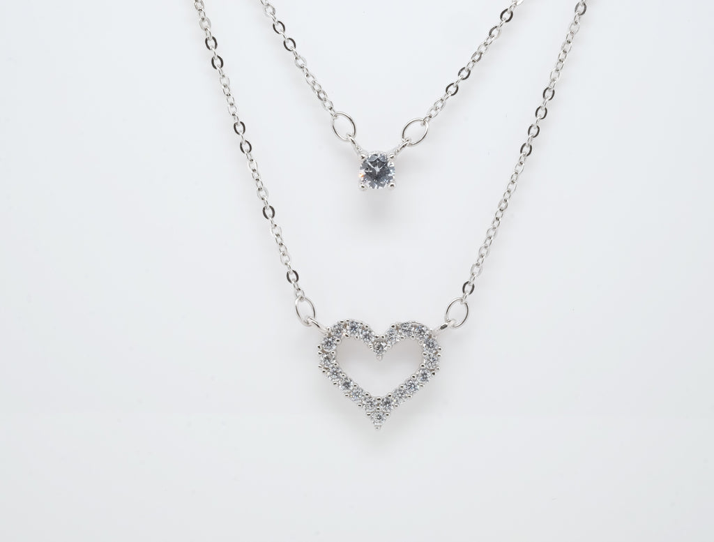 Goddess Astraea Captivate Heart Strings Layered Necklace