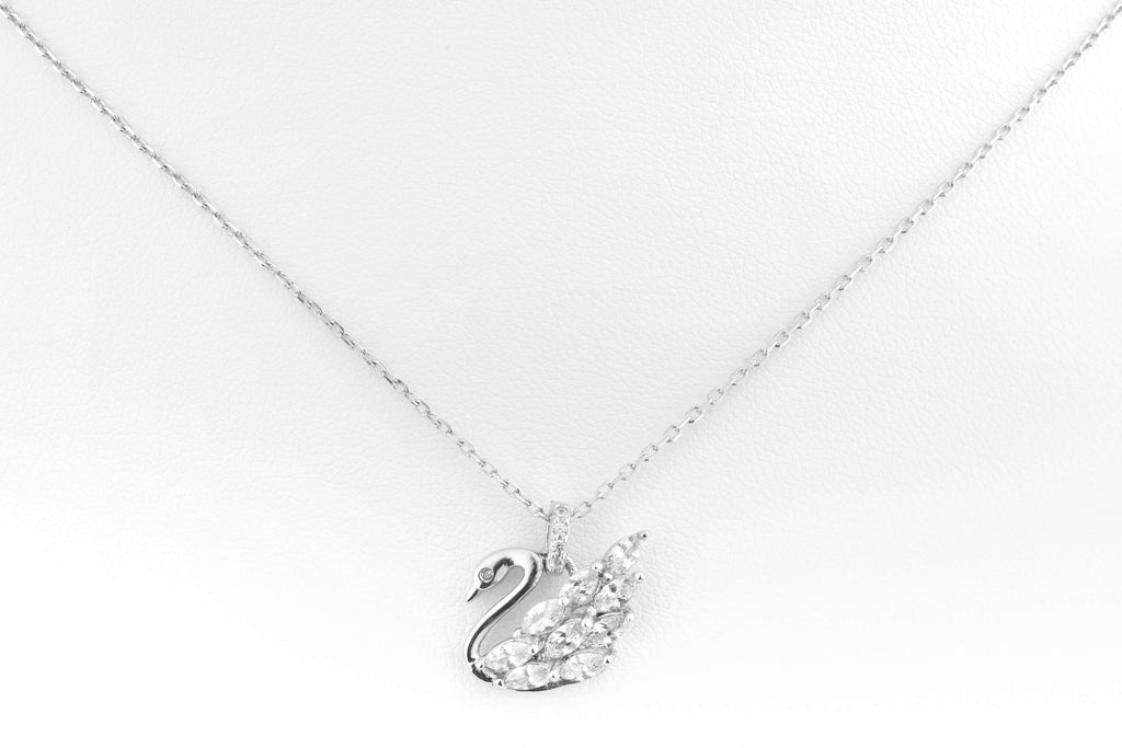 Radiant Swan Necklace
