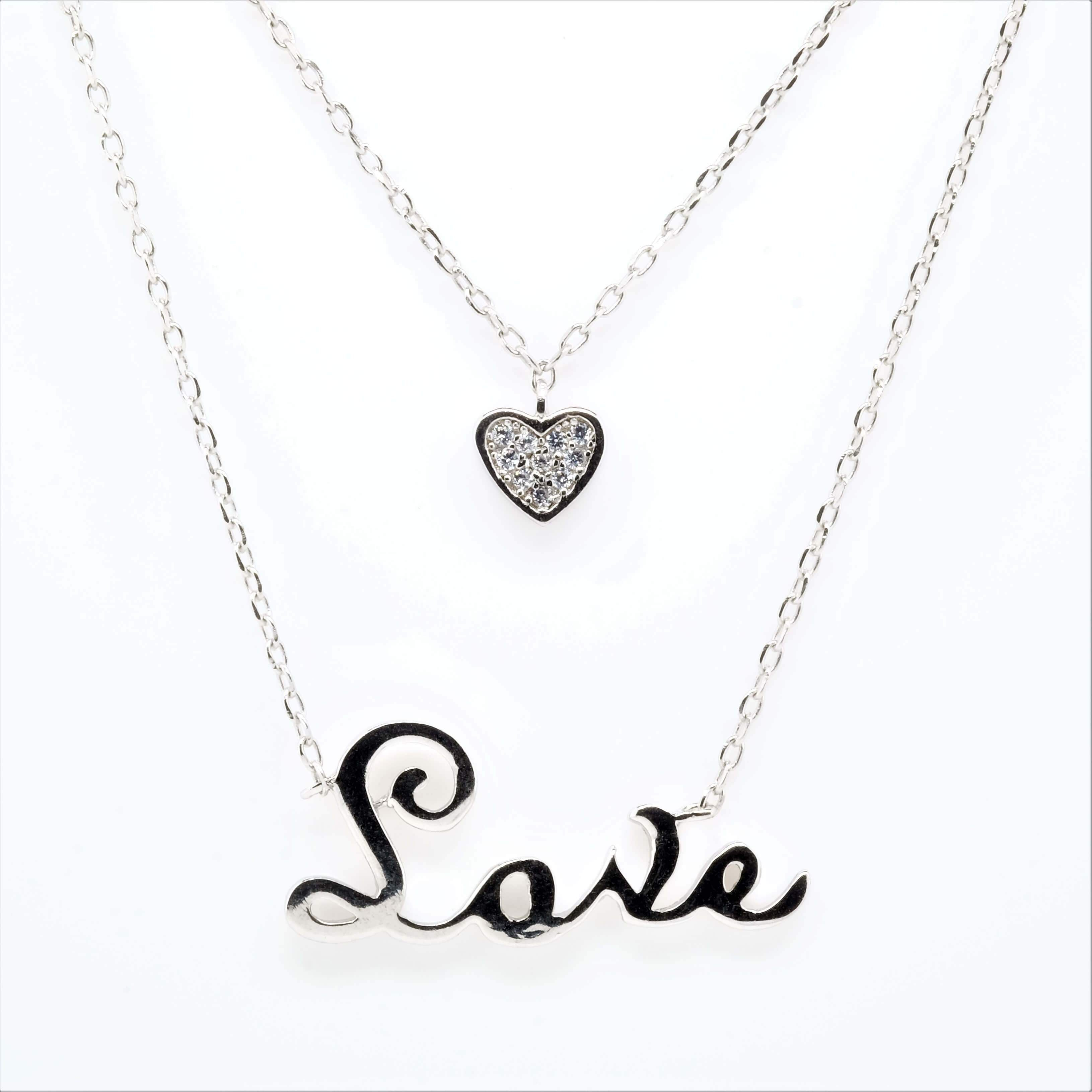 Shape of Love Necklace