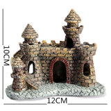 Cartoon Castle Tower Ornament