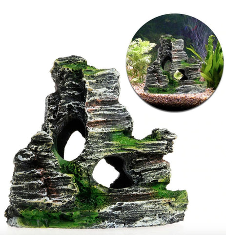 Rock Mountain Ornament
