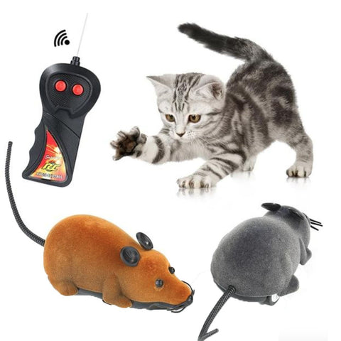 Remote Control Plush Mouse