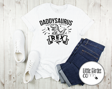 "Load image into Gallery viewer, Men's ""Daddysaurus Rex"" Short Sleeve T-Shirt"