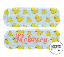 Load image into Gallery viewer, Ice Pop Koozie - Rubber Duck Pattern