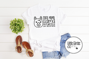 "Women's ""Mama Llama"" Short Sleeve T-Shirt"